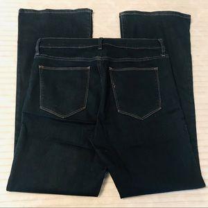 GAP Perfect Boot Dark Wash Petite Jeans 31 Short